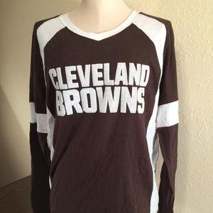 Victoria's Secret PINK Cleveland Browns T-Shirt
